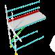 Pakkeløsning 2- Fasademodul - 1,0 x 3,0 x 2,2m